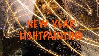 New Year Lightpainting Photography