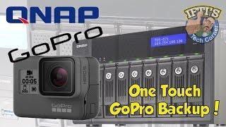 GoPro One-Touch Backup with QNAP - Workflow