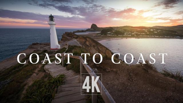 New Zealand Coastline by Drone 4K (North Island)