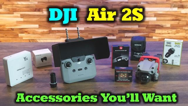 DJI Air 2/2S Accessories You'll Want in Your Kit