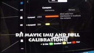 DJI Inspire 2 Compass and IMU Calibration Walkthrough