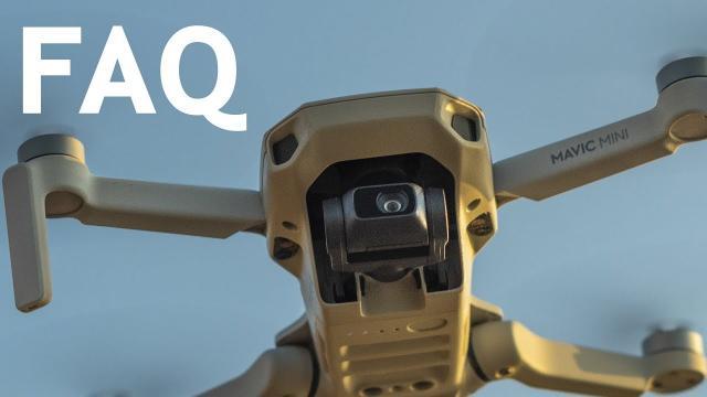 DJI Mavic Mini FAQ |Your Questions Answered ⁉️