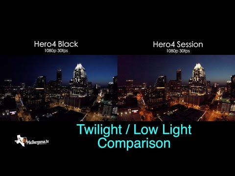 audio comparison gopro hero session silver black tip  ebb