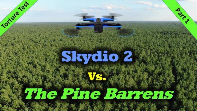 Torture Test #1 - Skydio 2 Vs. The Scary Woods