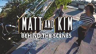 "GoPro Music: Matt and Kim ""Let's Run Away"" BTS"