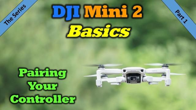 Mini 2 Basics - How To Pair Your Controller