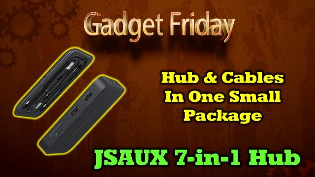 The Last Hub You'll Ever Need with a Cool Hidden Feature - JSAUX OmniCase Pro