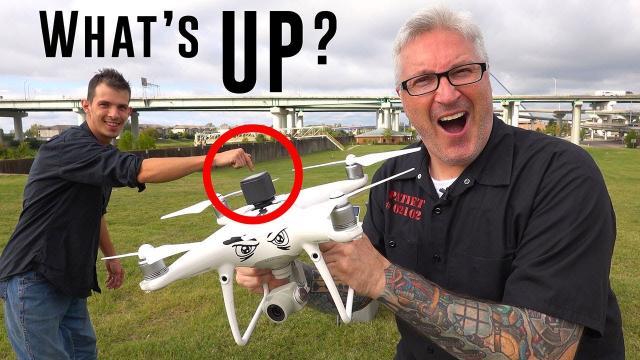 Upward Facing drone camera Hack - KEN HERON