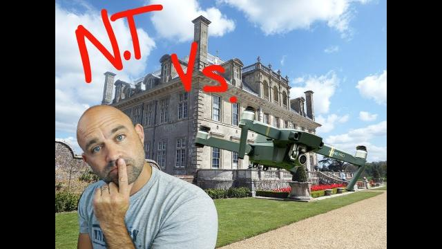Drone #MAIL no. 31// Do The National Trust Own the SKY????!!