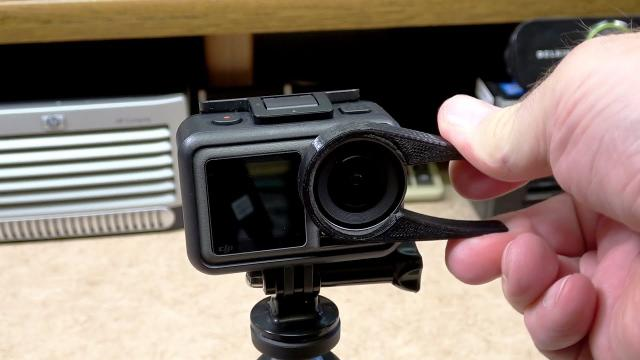 DJI OSMO Action Lens Cover Removal Tool