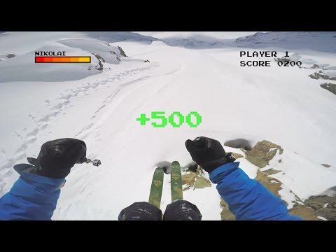 GoPro: 8-Bit Ski