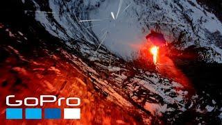 GoPro Awards: BASE Jumping at Night   The Human Jet