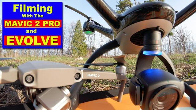 Filming with the DJI MAVIC 2 PRO and XDYNAMICS EVOLVE Drone
