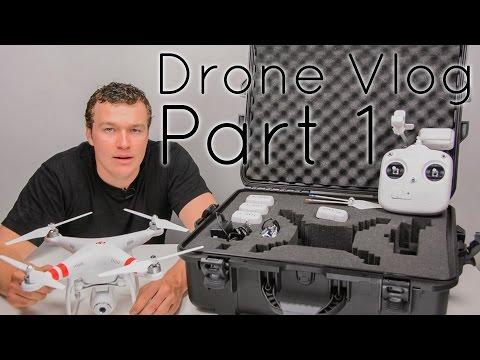 Learning To Use A Drone Vlog - Part 1: Initial Impressions