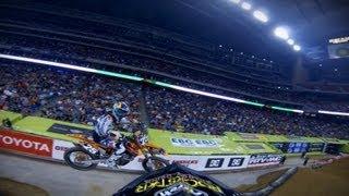 GoPro: Blake Wharton Main Event 250 WIN - 2013 Monster Energy Supercross from Houston, TX