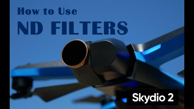 Skydio 2 How to Use ND Filters - For Smooth and Cinematic Footage - Skydio 2 Tutorial