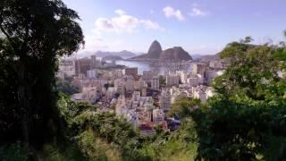 Tracking Shot Of Colorful Rio De Janeiro.