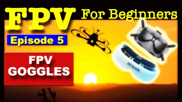 EP5 - FPV FOR BEGINNERS - Recommend FPV Goggles for Beginners.