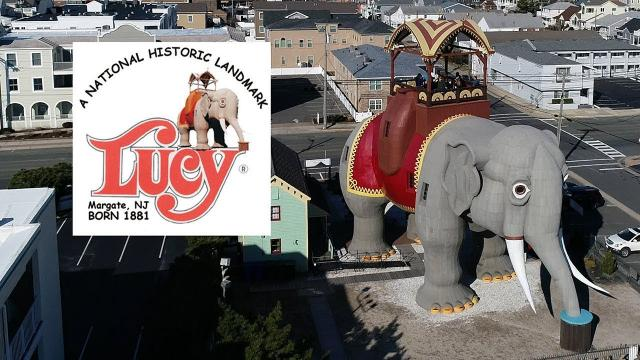 Go INSIDE the world's largest ELEPHANT - KEN HERON - Lucy in Margate New Jersey