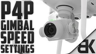 The Best DJI Phantom 4 Pro Gimbal Speed Settings