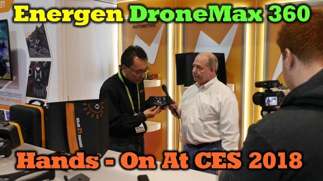 DroneMax 360 by Energen - CES 2018 - Hands On!