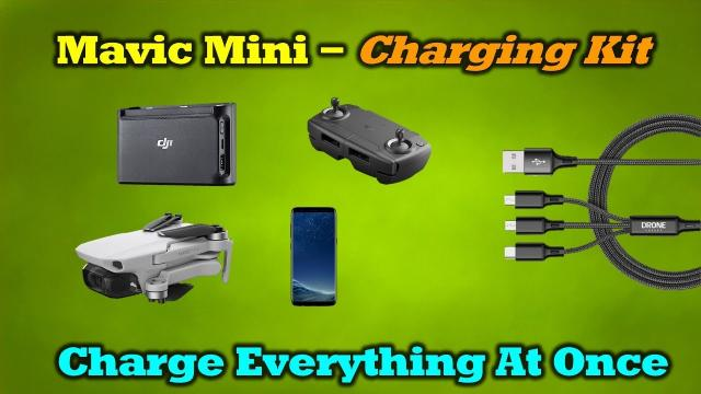Mavic Mini - Charge Everything From One Cable