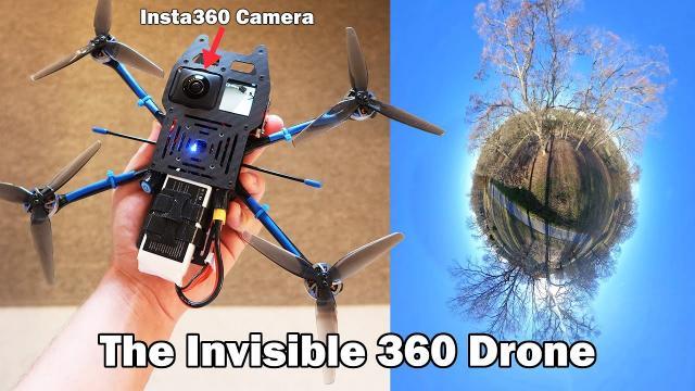 The Invisible Drone - X-Knight 360