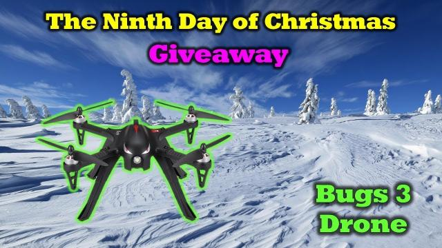 Free Bugs 3 Drone - 12 Days of Drone Valley Christmas Giveaways 2019