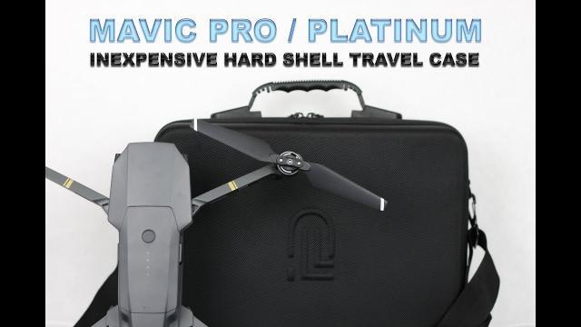 MAVIC PRO & PLATINUM HARD SHELL SHOULDER TRAVEL CASE - Review and Demo