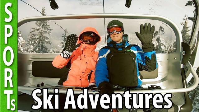 Ski Adventures in Austria (during heavy snowing!)