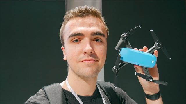 DJI Spark Hands On and First Thoughts