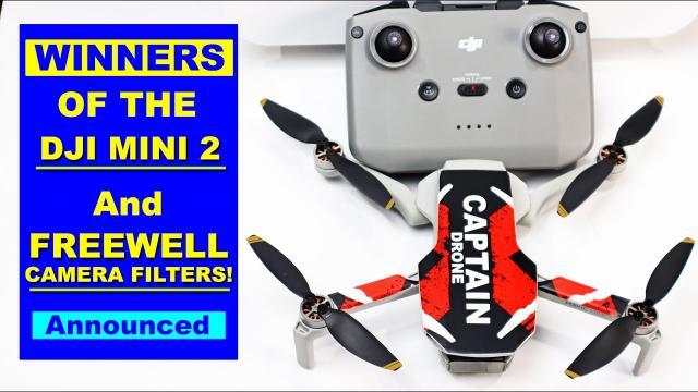 CONTEST WINNERS ANNOUNCED!!!  Win the New DJI Mini 2 Drone plus Freewell Filters