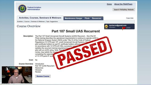 HOW TO take the FAA Recurrent Part 107 Test (With Answers)