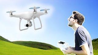 Ma Première Fois avec un Super Drone ! (Test DJI Phantom 4)