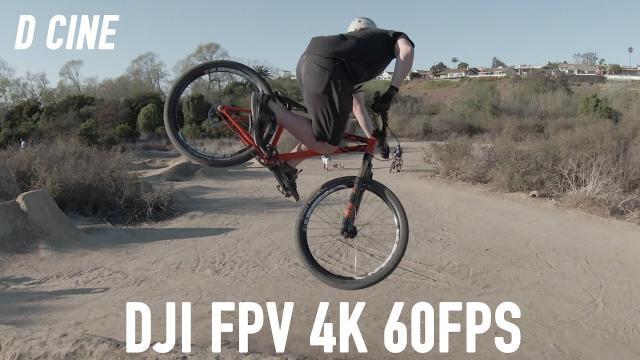 DJI FPV 4K 60FPS D CINE RAW!