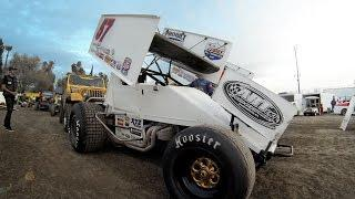 GoPro: Kyle Larson World of Outlaws Sprint Car Practice