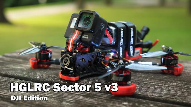 The Sector 5 v3 looks amazing, but how does it fly? DJI FPV Edition