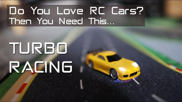 The Best RC Car Gift - Turbo Racing 1/76th scale