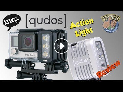 Knog Qudos Action Light For GoPro, Sony, DSLR's & More ...