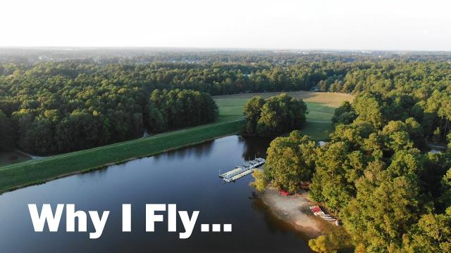 Why Do YOU Fly Drones?