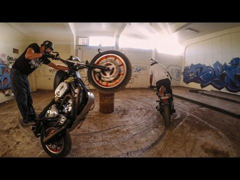 GoPro: Wild Wheelies At An Abandoned Jail