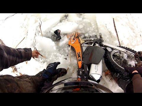 GoPro Awards: Dirtbike Polar Plunge