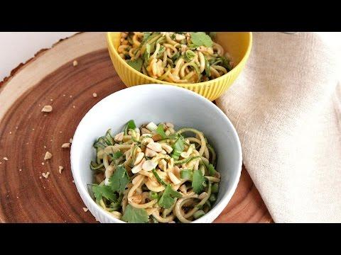 Zoodles With Peanut Sauce | Episode 1051