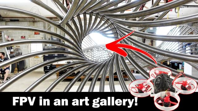 FPV in a Metal Art Gallery - McConnell Studios