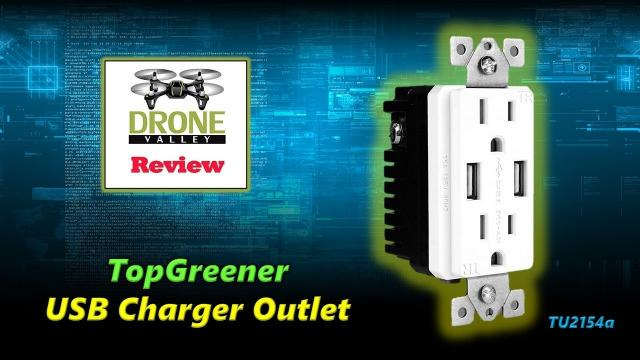 Charge Your Portable Devices Without Needing A Charger - TOPGREENER Dual High-Speed USB Outlet
