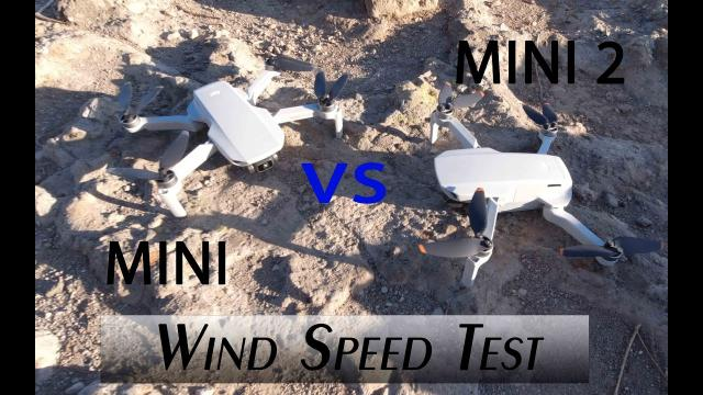 DJI Mavic Mini vs Mini 2 WIND TEST - Surprising Results
