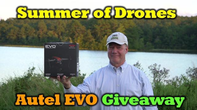 Summer of Drones - Autel EVO Giveaway - WOW!