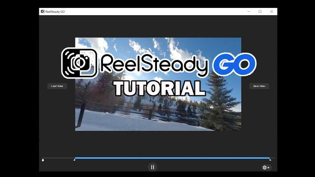 Reelsteady GO Tutorial - How to Stabilize GoPro FPV Footage
