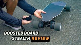 Boosted Board STEALTH Review!! FASTEST one!!!