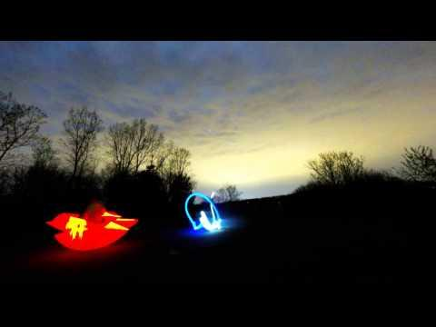 Pro Click Light Painting Night Lapse